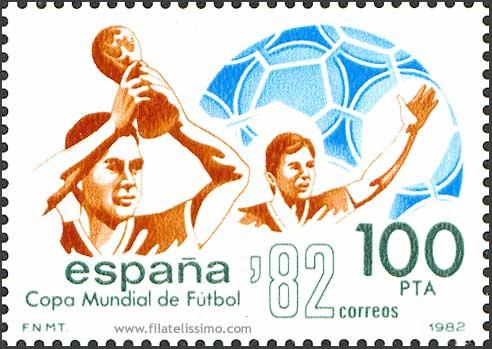 1982 Esp Mundial Futbol 82 Hb Sellos04