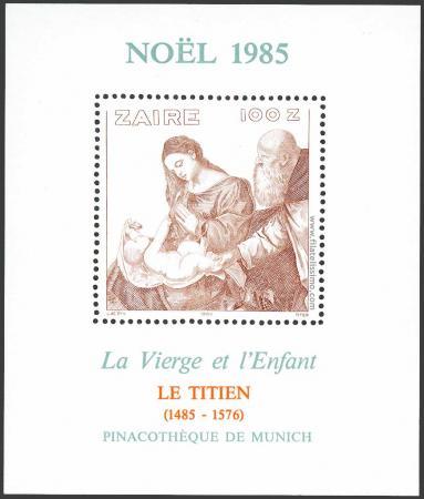 Tiziano Vecellio: La Virgen y el Niño