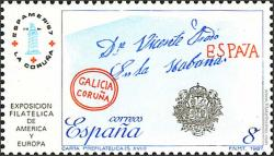 Carta prefilatélica del s. XVIII