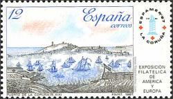 Vista del Puerto de La Coruña