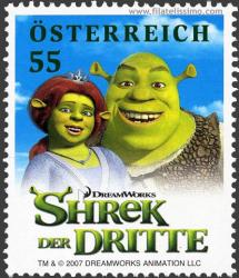 Shrek III en Sellos