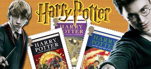 Sellos Harry Potter en Julio 2007
