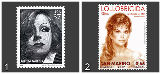 Greta Garbo Vs Gina Lollobrigida