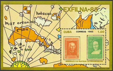 Homenaje a la Filatelia Latinoamericana