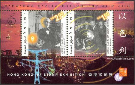 Thomas Alva Edison y Alexander Graham Bell