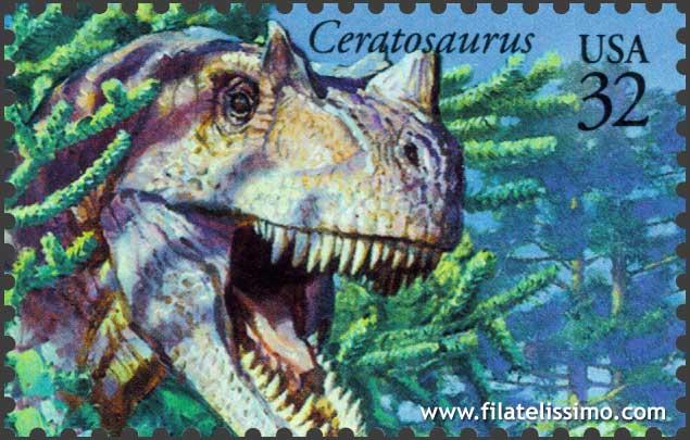 Dinosaurios Ceratosaurus