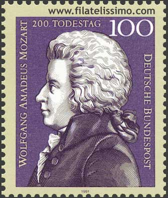 Wolfgang Amadeus Mozart Sello