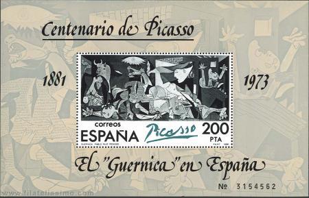 El Guernica en España.
