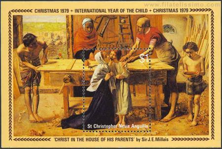 Cristo en casa de sus padres
