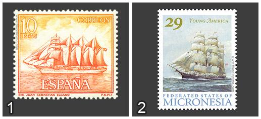 Juan Sebastián Elcano vs Young America