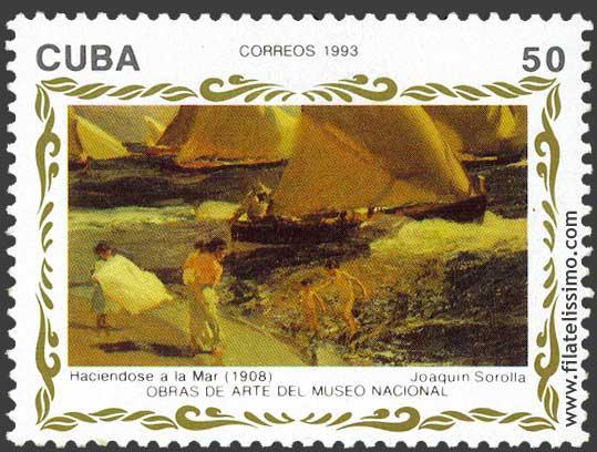 Stamps Joaquin Sorolla Y Bastida