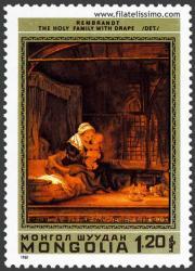 La Sagrada Familia. O el arte de correr la cortina. Rembrandt