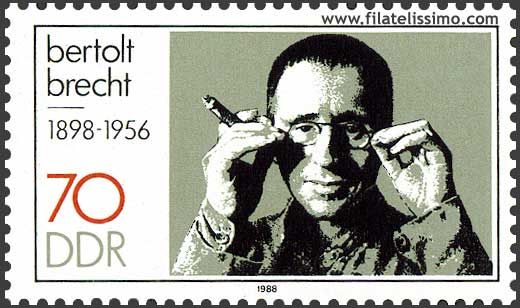 Dramaturgo Bertolt Brecht