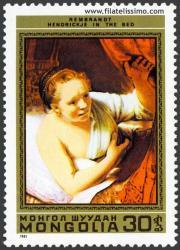Hendrickje en la cama. Rembrandt