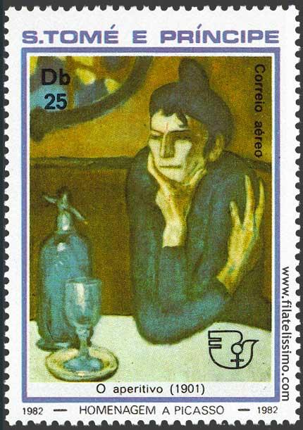 Picasso Bebedora Absenta