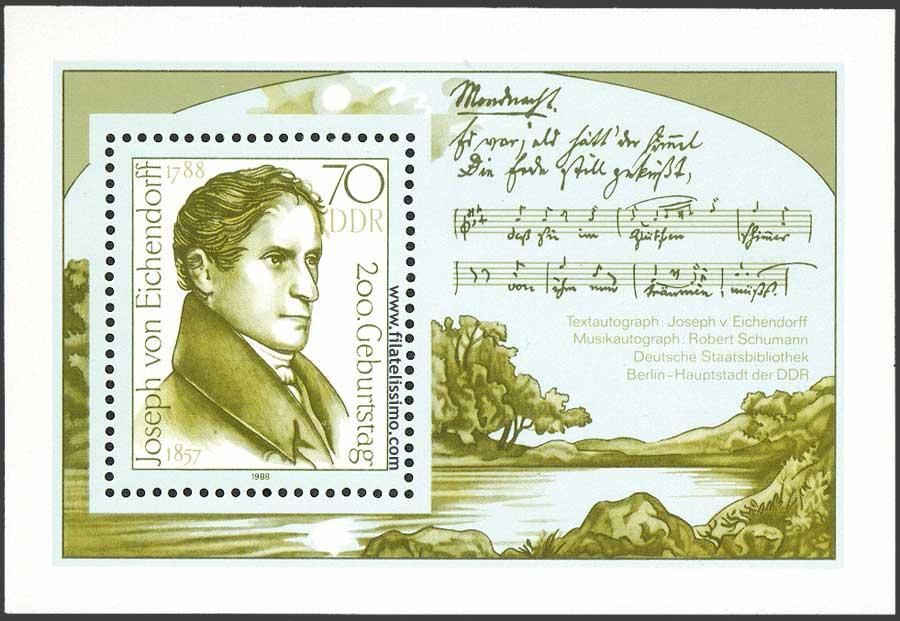 Poeta Joseph Von Eichendorff Hb