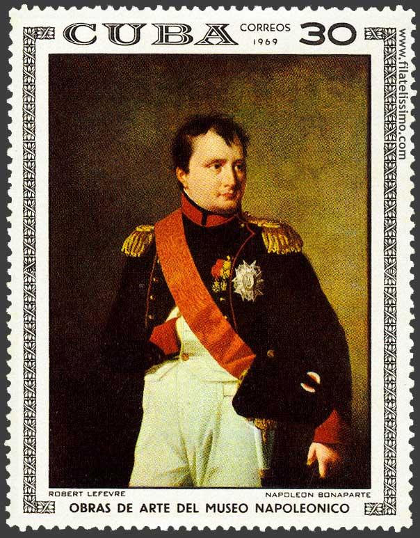 Retrato Napoleon Bonaparte