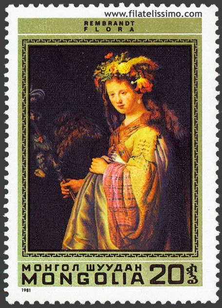 Sellos Pintura Rembrandt