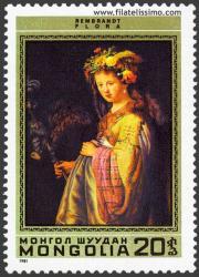 Flora. Rembrandt