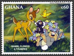 Bambi, Tambor y Flor