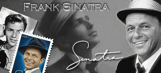 Frank Sinatra en Sellos de USA