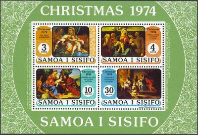 Navidad. Cuadros de la National Gallery of Scotland
