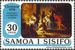 Adoración de los pastores; de Rubens