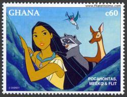 Pocahontas, Flip y Meik
