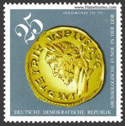 Moneda de oro 270-273