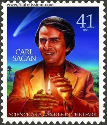 Sello Carl Sagan, motivo 1