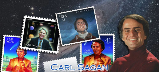 Sello Carl Sagan