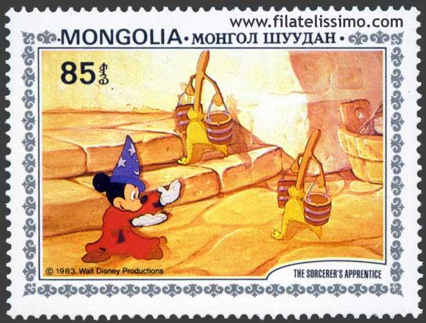 Filatelia Disney Fantasia