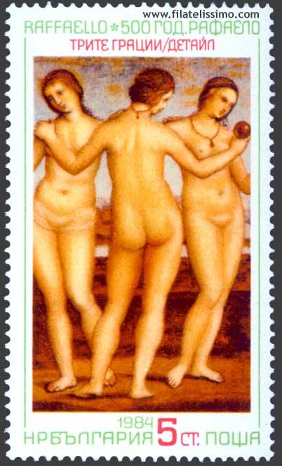Las Tres Gracias Rafael Sanzio