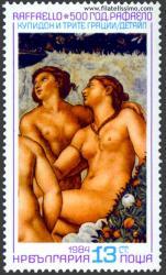 Fresco de Rafael Sanzio