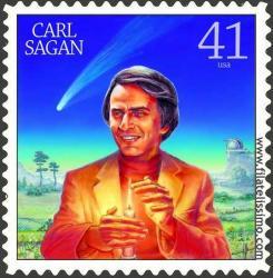 Sello Carl Sagan, motivo 2