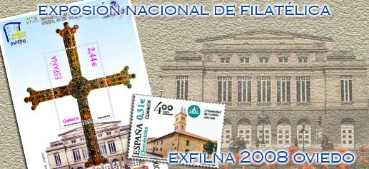 Exposición Nacional Filatélica: Exfilna 2008 Oviedo