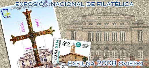 Exposicion Nacional Filatelica Exfilna 2008