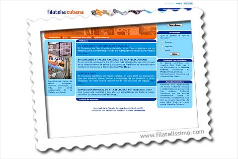 filatelia cubana