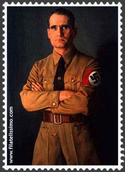 Alemania emite por error sellos del nazi Rudolf Hess