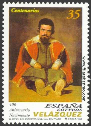 Diego Velazquez El Bufon Don Sebastian De Morra