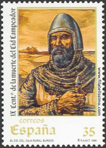 Sello Rodrigo Diaz Vivar El Cid Campeador