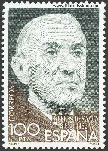 Centenario Del Nacimiento De Ramon Perez De Ayala
