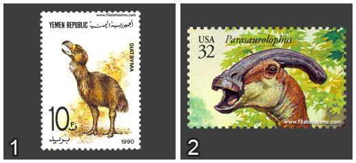 Diatryma Vs Parasaurolophus