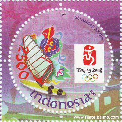 Juegos Olimpicos 2008 Pekin Sellos