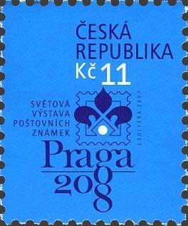Exposicion Filatelica Mundial Praga 2008