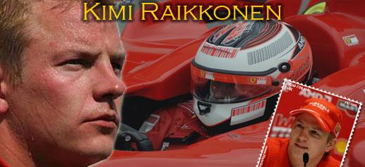 Sellos Kimi Raikkonen