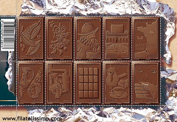 Sellos De Chocolate Le Chocolat