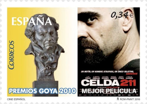 Sello Celda 211, de Daniel Monzón