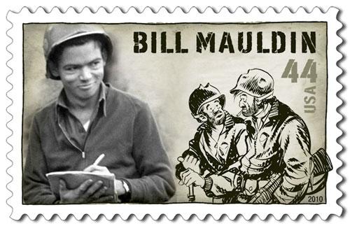 Bill Mauldin Homenajeado Por La USPS