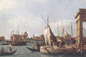 Cuadros de Canaletto, La Punta della Dogana